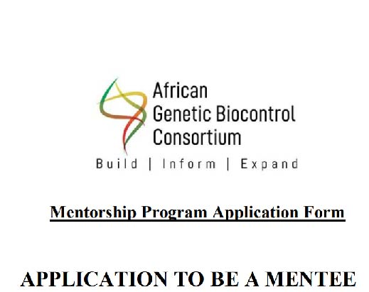 APPLICATION TO BE A MENTEE
